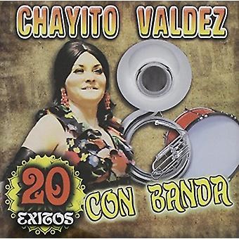 Chayito Valdez - 20 Exitos Con Banda [CD] USA import