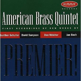 Amerikanske messingkvintet - Premier: Amerikansk messingkvintet [CD] USA import