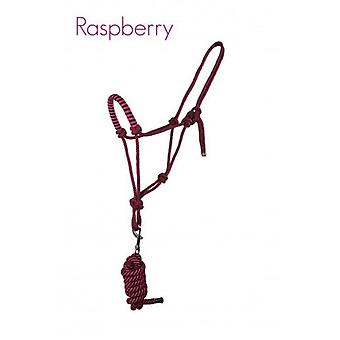QHP Ramal halter rope with Raspberry Cob