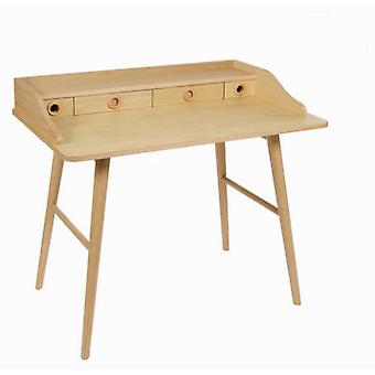 Bigbuy Bureau wood 4 drawers - Modern Collection (Furniture , Office , Office desks)