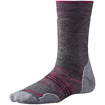 Smartwool Women's PhD® Outdoor Medium Crew Sock - Medium Gray