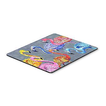 Carolines Treasures  8871MP Flamingo Six Senses Mouse Pad, Hot Pad or Trivet