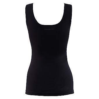 BlackSpade Private Black Cotton Lace Singulett Weste Top 1957