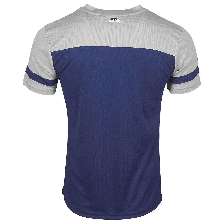 promo code b94d7 e55df Majestic NFL poly mesh Jersey shirt - Seattle Seahawks