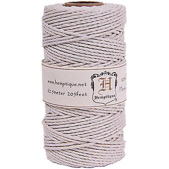 Hemp Cord Spool 48lb 205'-White HS48CO-WHT