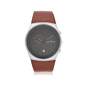 Skagen men's SKW6085 Brown steel watch