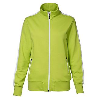 ID Womens/Ladies Full Zip Regular Fitting Contrast Sport Jacket