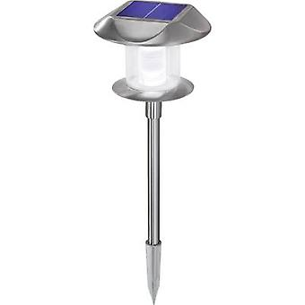 Solar garden light LED Warm white, Neutral white Esotec Sunny 102093 Stainless steel