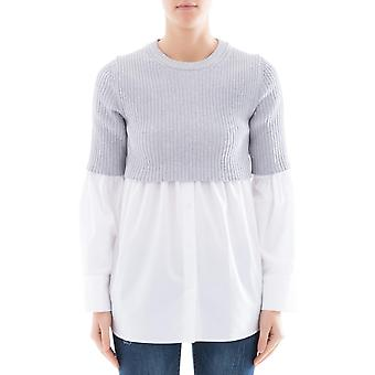 Kenzo women's F852T00635AP01 grey cotton sweater