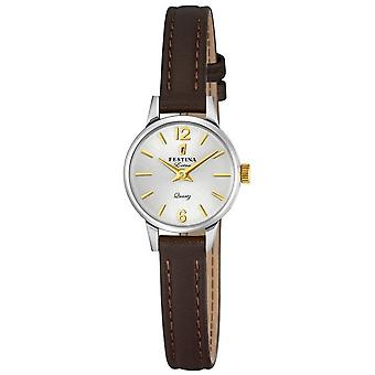 Festina Lady watch extra leather band classic F20260/2