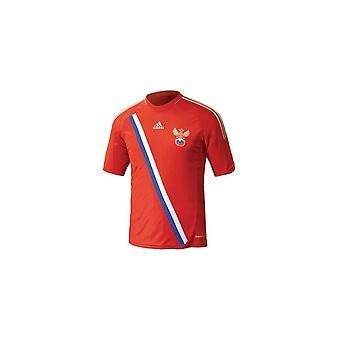 Adidas Rfu H Jsy Tango 12 Rosja X 12073 fotboll alla år män t-shirt