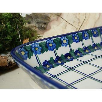 Dish / casserole, 19 x 24 x 4 cm, unique 50 - polacco ceramica - BSN 6589