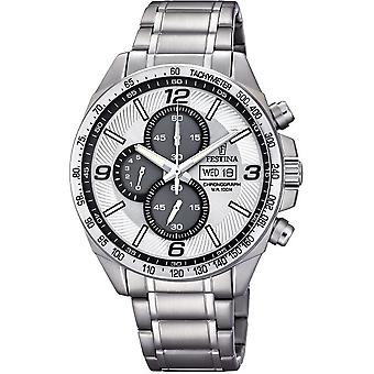 Festina mens watch of timeless chronograph F6861/1
