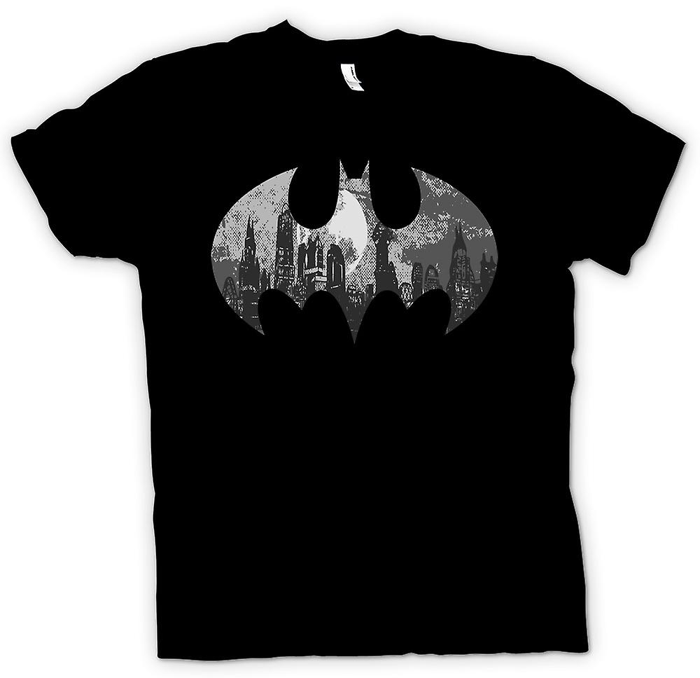 Heren T-shirt - Batman Logo - Gotham City