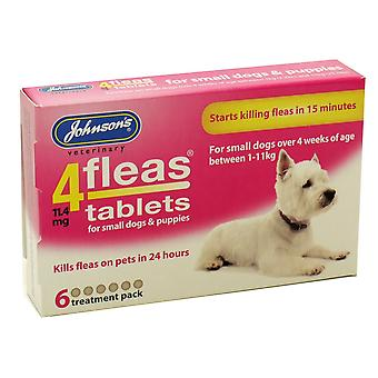 Johnson's 4 Fleas Puppy FleaTablets 6 Tabs
