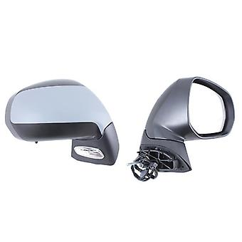 Right Mirror (electric heated temp. sensor) For Peugeot 3008 2009-2017
