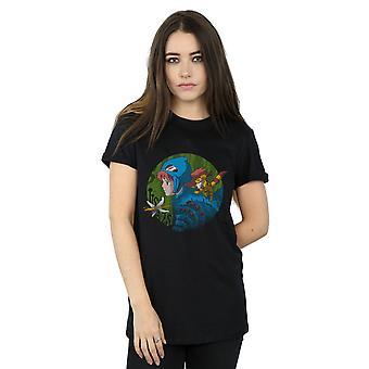 Vincent Trinidad Women's Into The Toxic Jungle Boyfriend Fit T-Shirt
