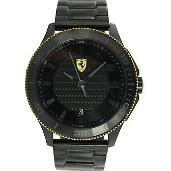 Ferrari Scuderia Herren Uhr Armbanduhr Analog Quarz Edelstahl 0830141