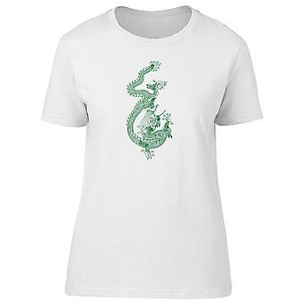 Chinese Art Ancient Dragon Tee Women's -Image by Shutterstock
