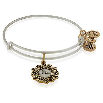 Alex And Ani Cancer Two Tone Bracelet - A17EBZD03RS