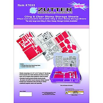 Zutter Cling & Clear Stamp Storage System Refills-12.25