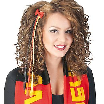 Hair clip fan soccer World Cup Germany Germany accessory