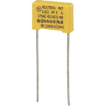 MKP-X2 1 PC condensador de supresión de MKP-X2 Radial plomo 0.033 μF 275 V AC 10% 10 mm (L x W x H) 12 x 5 x 11 mm