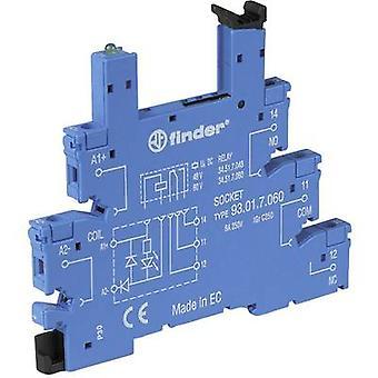 Relay socket + bracket, + LED, + EMC emission supressor 1 pc(s) Finder 93.01.3.240 Compatible with series: Finder 34 ser