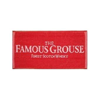 Famous Grouse Whiskey Cotton Bar Towel 500Mm X 225Mm