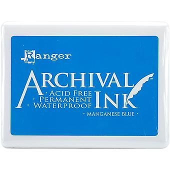 Archival Ink Jumbo Ink Pad #3-Mangan blau