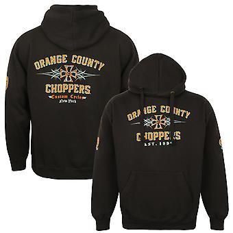 Orange County Choppers mens hooded sweater 99 Pinstripe