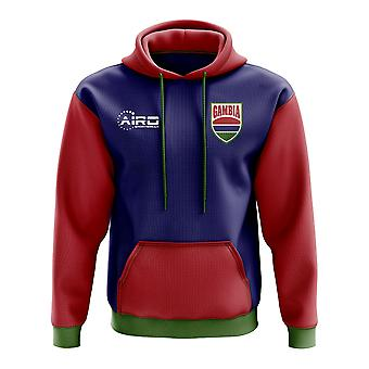 Gambia Concept Country Football Hoody (Navy)