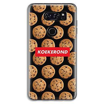 LG V30 Transparent Case - Koekerond