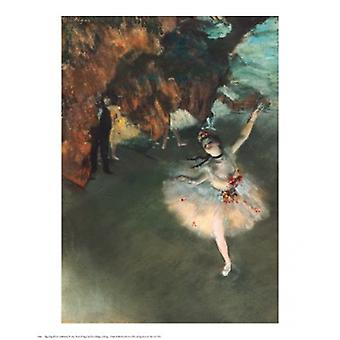The Star Poster Print by Edgar Degas (24 x 30)