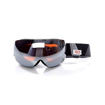 Anon Fragment-Sonar Silver 2017 MIG - with MFI Facemask Snowboarding Goggles