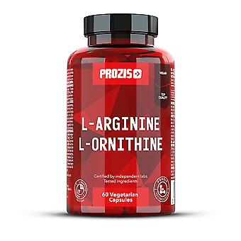 Anti-stress PROZIS - L-arginina, L-ornitina 500mg 60 veg as tampas-