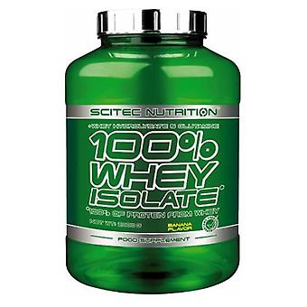 Scitec Nutrition Whey Isolate Banana with Additional L-glutamine