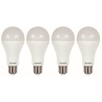 4 x Sylvania ToLEDo A66 Dimmable E27 V4 15W Homelight LED 1521lm [Energy Class A+]