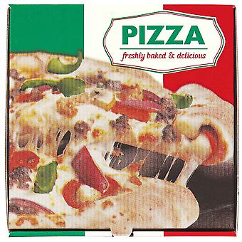 Italienische Pizza Box weiß 10 Zoll