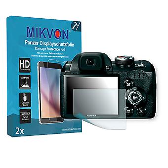 Fujifilm FinePix S4080 Screen Protector - Mikvon Armor Screen Protector (Retail Package with accessories)