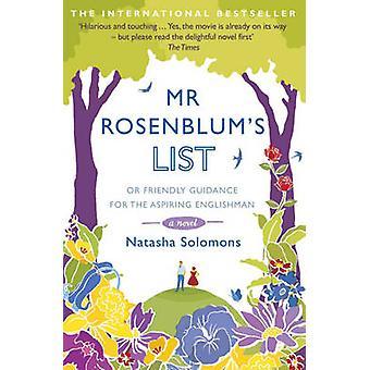 Mr. Rosenblum's List - Or Friendly Guidance for the Aspiring Englishma