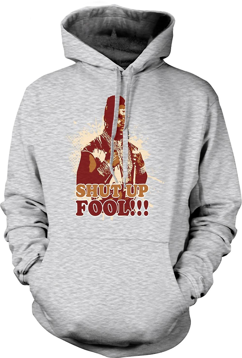 Mens Hoodie - Mr. T Shut Up Fool a-Team