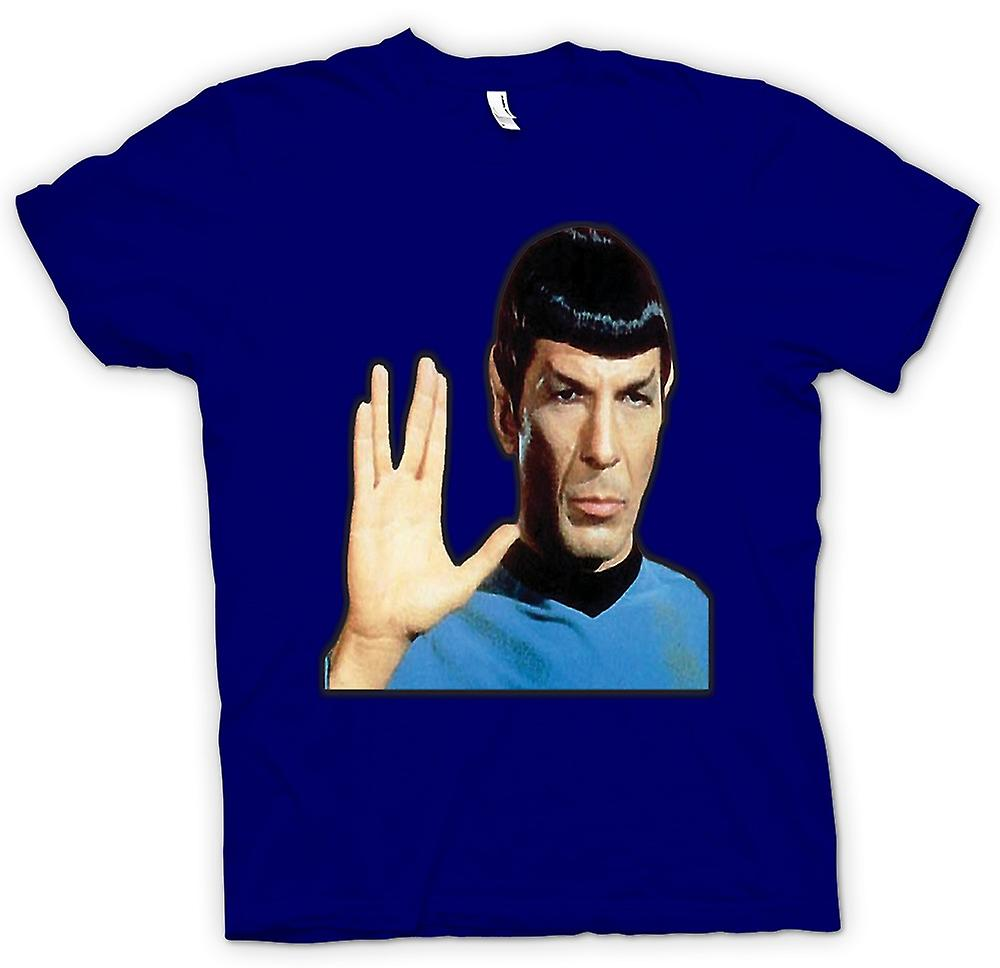 Mens T-shirt - Herr Spock - Star Trek