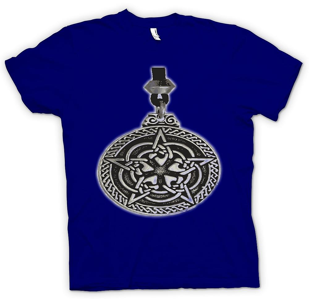 Mens T-shirt - Pagan Medallion - Tribal Art