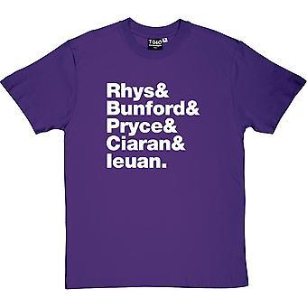 Super Furry Animals Line-Up Men's T-Shirt