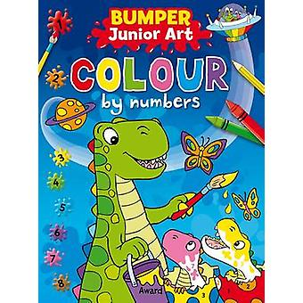 Junior Art Bumper Colour By Numbers by Angela Hewitt