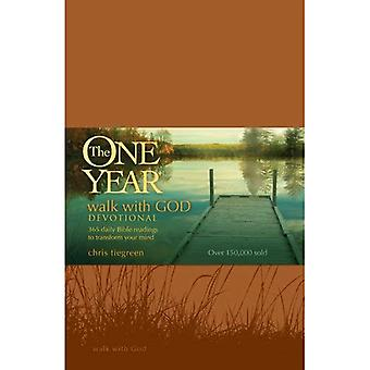 The One Year Walk with God Devotional: 365 Daily Bible Readings to Transform Your Mind (One Year Books)