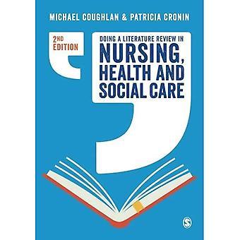 Göra en litteraturstudie i omvårdnad, omsorg vård och
