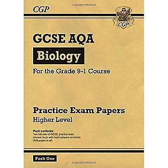 Nuevos documentos de práctica grado 9-1 GCSE biología AQA: mayor Pack 1