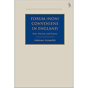 Forum Non Conveniens i England: tidigare, nuvarande och framtida (studier i internationell privaträtt)